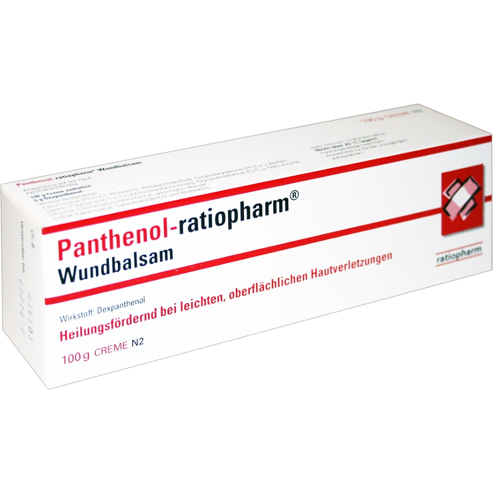 The drug Pantenol-Ratiofarm