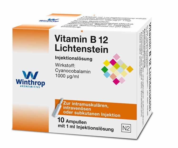 vitamin b12 lichtenstein 10 fiale erbofarma farmacia. Black Bedroom Furniture Sets. Home Design Ideas